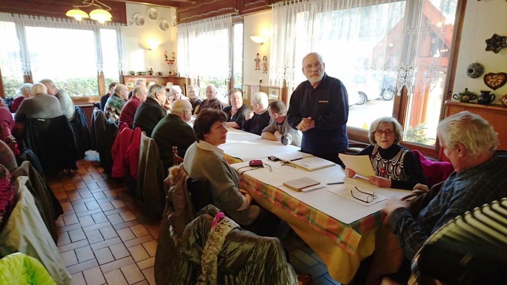 Table de Patois au restaurant Diette.