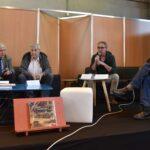 Philippe Legin, Christian Dirwimmer, Dominique Spahn et Jean-Louis Siffer au salon du livre de Colmar.